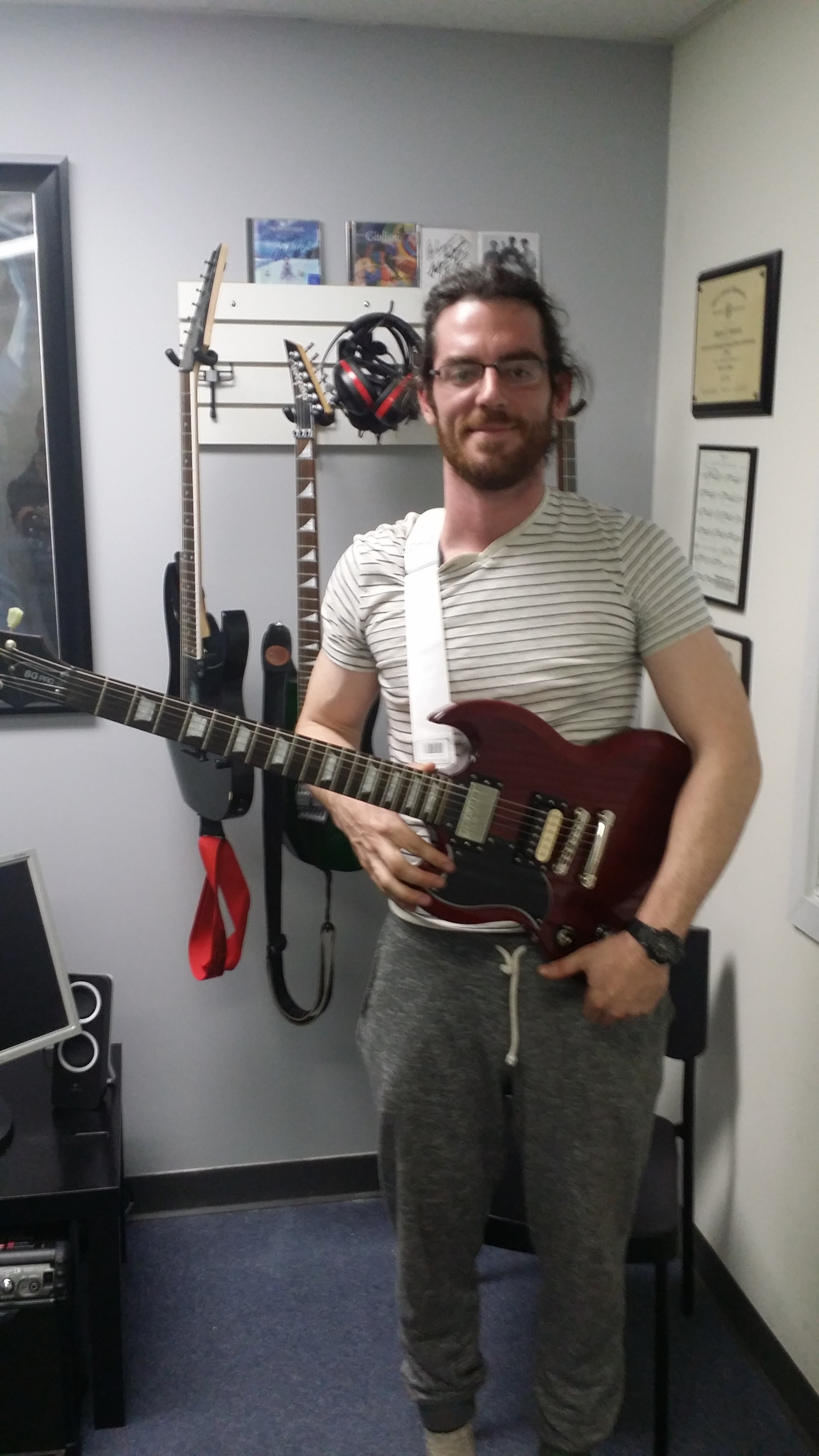 Nate earned his Rock Guitar Mastery System™ Rock Starter Level