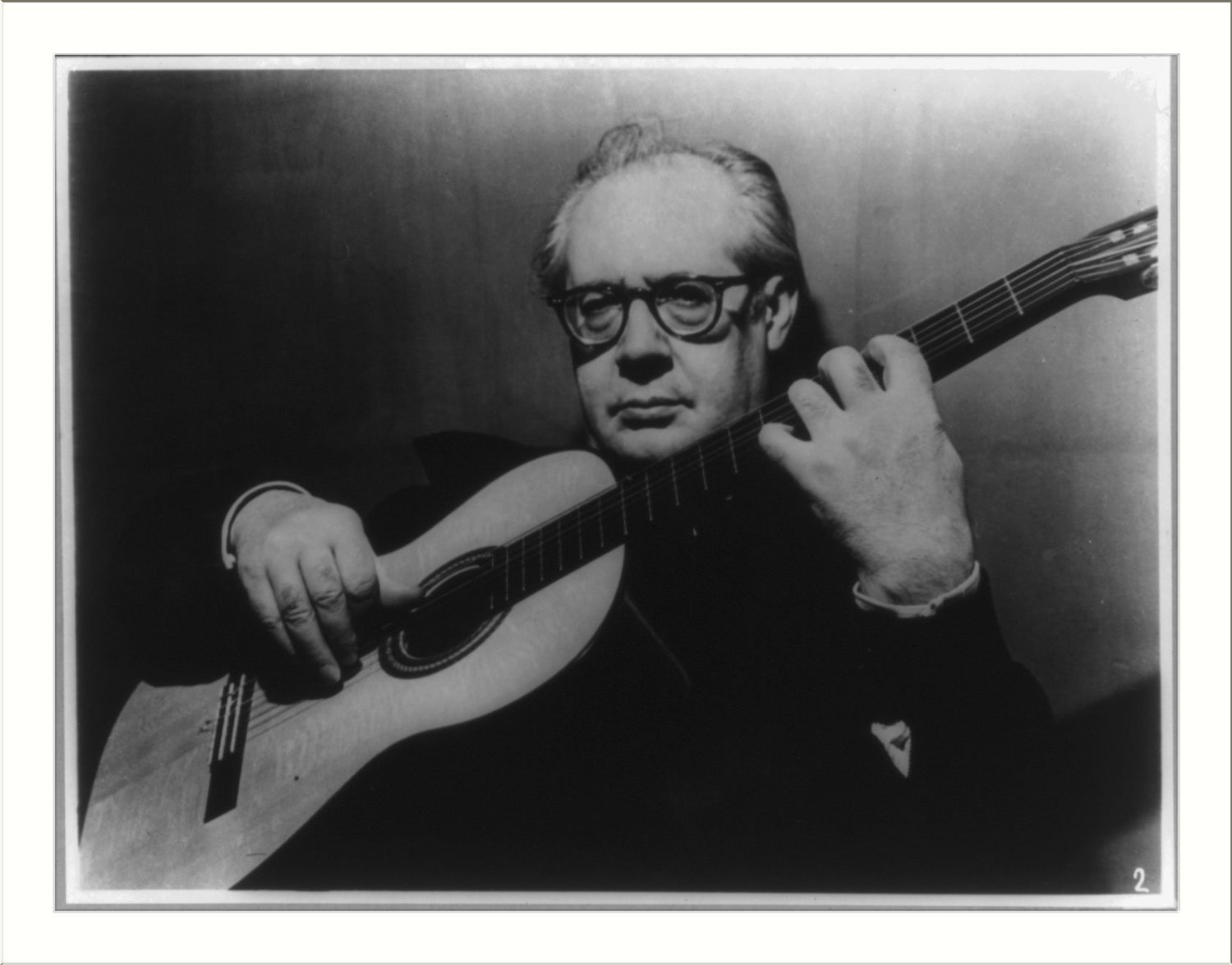 The great Andres Segovia
